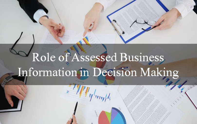 Role-of-Assessed-Business-Information-in-Decision-Making